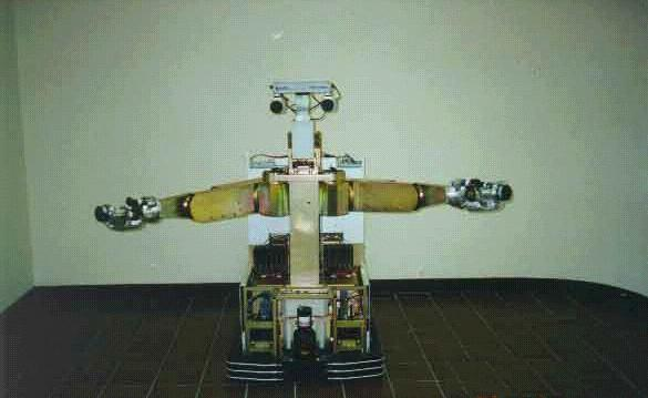 Two Armed Mobile Sensate Research Robot