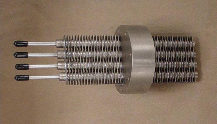 Heat Pipe Heat Exchangers With Double Isolation Layers For